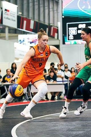 8 Alice Kunek (AUS) - 9 Esther Fokke (NED) - Game5_Final_Netherlands vs Australia