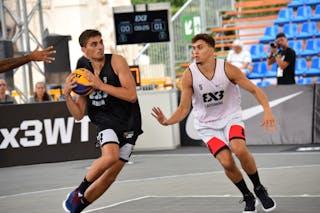 6 Nemanja Draskovic (KSA) - 5 Natan Jurkovitz (SUI)