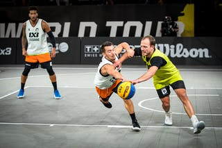 1 Aron Roijé (NED) - 2 Gilles Martin (SUI)