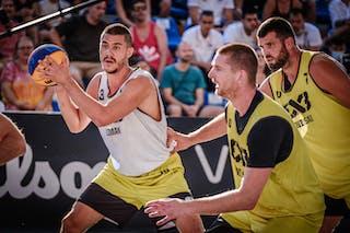 4 Marko Savić (SRB) - 3 Mihailo Vasic (SRB)