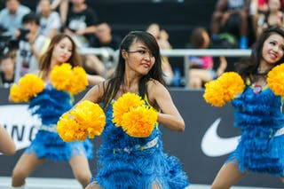 Cheerleaders, 2014 World Tour Beijing, 3x3game, 2-3 August.