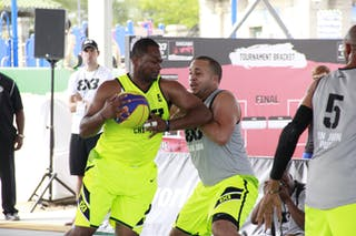 #5 Jitim Young, Team Chi-Town, 2014 World Tour Chicago. 3x3 Game. !6 August. Day 2.