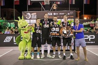 2nd place Vrbas 3x3 Ljubljana Challenger
