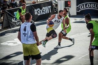 5 Kevin Corre (KSA) - 2 Nemanja Draskovic (KSA) - 4 Marko Savić (SRB) - 3 Dejan Majstorovic (SRB)