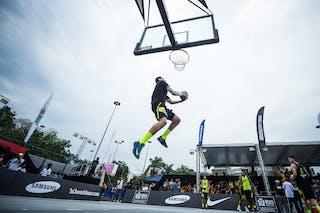 Dunk, FIBA 3x3 World Tour Rio de Janeiro 2014, Day 2, 28. September.