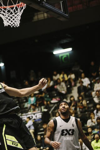 #6 Burger Jordan, Team Santos, FIBA 3x3 World Tour Final Tokyo 2014, 11-12 October.