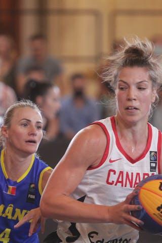 1 Michelle Plouffe (CAN) - 24 Ancuţa Stoenescu (ROU)