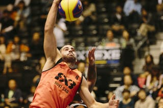 #4 Dusan Domovic Bulut, Team Novi Sad, FIBA 3x3 World Tour Final Tokyo 2014, 11-12 October.