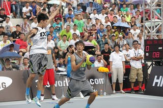 #4 Yang Qu, Team Xi'an, 2014 World Tour Beijing, 3x3game, 2-3 August.