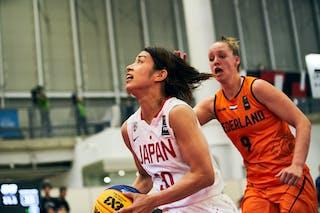 9 Esther Fokke (NED) - 30 Mio Shinozaki (JPN) - Game5_Pool B_Japan vs Netherlands
