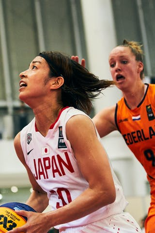 9 Esther Fokke (NED) - 30 Mio Shinozaki (JPN) - Game5_Pool B_Japan vs Netherlands