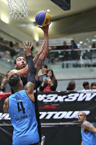 5 Joaquín Villanueva Lozano (MEX) - 4 Luiz Felipe Soriani (BRA)