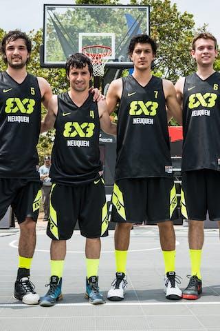 Team Neuquen, FIBA 3x3 World Tour Rio de Janeiro 2014, Day 2, 28. September.