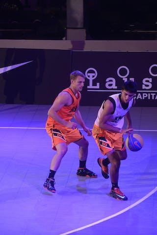 #7 Chaabane Yassine, Team Monastir, FIBA 3x3 World Tour Lausanne 2014, Day 1, 29. August.