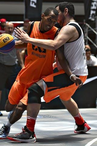 3 David Seagers (URU) - Montevideo v NY Harlem, 2016 WT Mexico City, Last 8, 17 July 2016