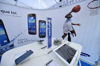 Samsung booth contest 2013 FIBA 3x3 World Tour Masters in Lausanne