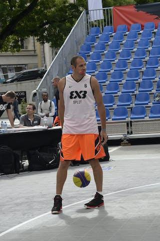 #6 Kaliterna Duje, Team Split, FIBA 3x3 World Tour Lausanne 2014, 29-30 August.