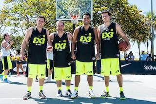 SP YMCA (Brazil) 2013 FIBA 3x3 World Tour Rio de Janeiro