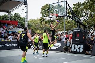 #6 Jordan Burger, Team Santos, FIBA 3x3 World Tour Rio de Janeiro 2014, Day 2, 28. September.