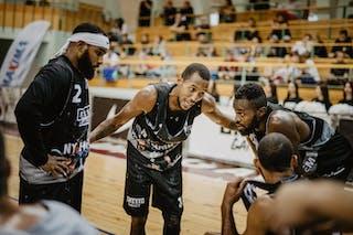 4 Marcel Esonwune (USA) - 2 Dominique Jones (USA) - 3 Antoinne Morgano (USA) - 1 David Seagers (USA)