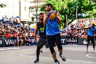 5 Mensud Julević (SLO) - 4 Michael Hicks (POL) - 5 Pawel Pawlowski (POL) - Kranj v Gdansk, 2016 WT Lausanne, Last 8, 27 August 2016