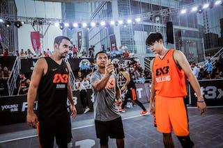 4 Lazar Rasic (SRB) - 5 Peng Wang (CHN)