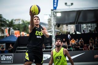 #5 Sarmento Marcellus, Team Santos, FIBA 3x3 World Tour Rio de Janeiro 2014, 27-28 September.