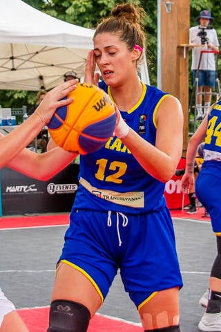 12 Elisabeth Pavel (ROU) - 12 Tamara Détraz (SUI)