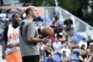 Eric Bertrand 2013 FIBA 3x3 World Tour Masters in Lausanne