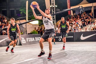 6 Oliver Vogt (SUI) - 4 Derrick Lang (SUI) - 4 Lazar Rasic (SRB) - Zemun v Lausanne, 2016 WT Lausanne, Pool, 26 August 2016