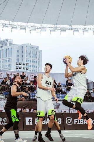 7 Lu Yi Sang (CHN) - 4 Dongyang Feng (CHN)