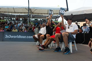 Giving 10 at the San Juan Masters 10-11 August 2013 FIBA 3x3 World Tour, San Juan, Puerto Rico. Day 2