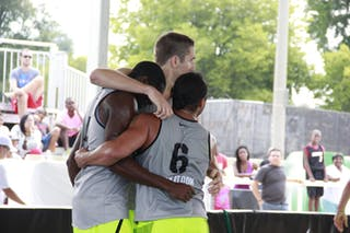Team Saskatoon, 2014 World Tour Chicago, 3x3 game, 16 August, Day 2.