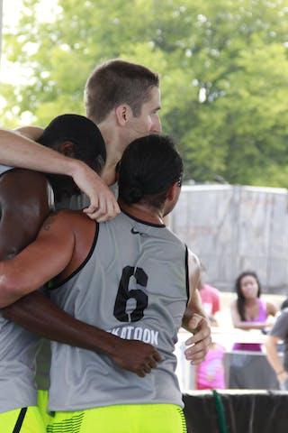 Team Saskatoon, 2014 World Tour Chicago, 3x3 game, 16 August, Day 2.