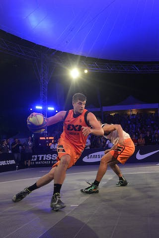 #5 Srebovt Anze, Team Trbovlje, FIBA 3x3 World Tour Lausanne 2014, Day 2, 30. August.