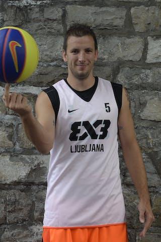 #5 Smaka Rok, Team, Ljubljana, FIBA 3x3 World Tour Lausanne 2014, 29-30 August.