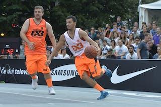 #3 Bucharest (Roumania) Bratislava (Slovakia) 2013 FIBA 3x3 World Tour Masters in Prague