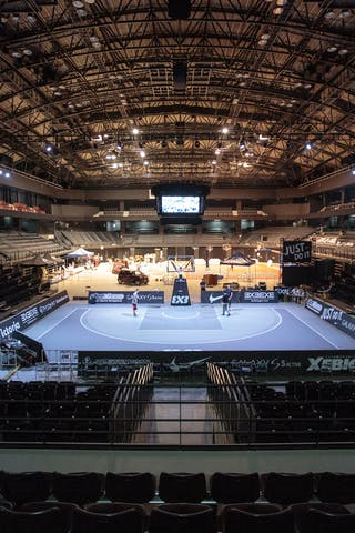 Xebio Arena view, FIBA 3x3 World Tour Tokyo Final 2014, 11-12 October.