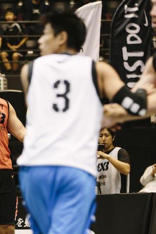 #7 Vlaicu Catalin, Team Bucharest, FIBA 3x3 World Tour Final Tokyo 2014, 11-12 October.
