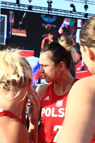 7 Agnieszka Szott-hejmej (POL) - 13 Klaudia Sosnowska (POL) - 11 Aldona Morawiec (POL) - 6 Martyna Cebulska (POL)