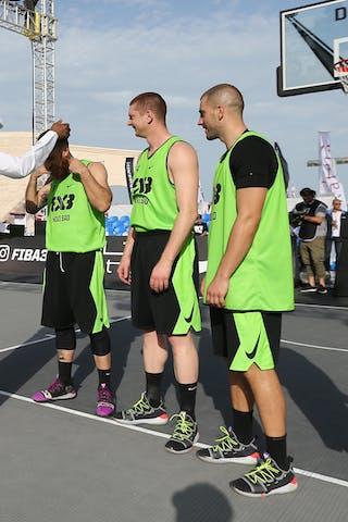 4 Marko Savić (SRB) - 6 Dusan Bulut (SRB) - 3 Marko Zdero (SRB)