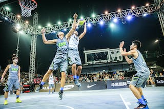 Player scoring, Team Nagoya, 2014 World Tour Beijing, 3x3game, 2-3 August