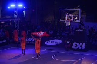 Team Monastir, FIBA 3x3 World Tour Lausanne 2014, Day 1, 29. August.