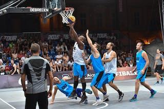 6 Sergio De Randamie (NED) - Amsterdam v Debrecen, 2016 WT Debrecen, Pool, 7 September 2016