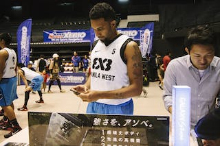 #5 Canaleta Rommel Nino, Team Manila West, galaxy corner, FIBA 3x3 World Tour Final Tokyo 2014, 11-12 October.