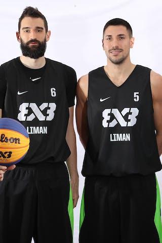 3 Mihailo Vasic (SRB) - 6 Stefan Kojic (SRB) - 5 Aleksandar Ratkov (SRB) - 7 Maksim Kovacevic (SRB)