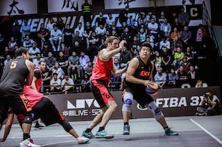 5 Shi Zhaoxu (CHN) - 3 Michael Linklater (CAN)