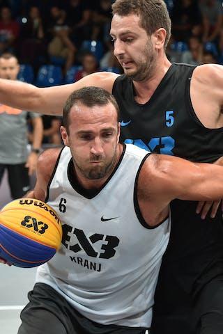 5 Danilo Mitrovic (SRB) - 6 Jure Eržen (SLO) - Kranj v Belgrade, 2016 WT Debrecen, Pool, 7 September 2016