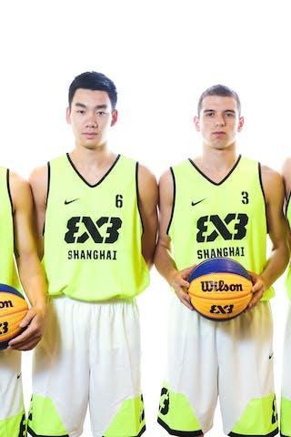 7 Wang Xuefeng (CHN) - 6 Zhenduo Leng (CHN) - 3 Goran Vidovic (CHN) - 4 Wang Jiayi (CHN)