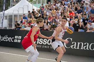 13 Christina Buttenham (CAN) - FIBA 3x3, World Tour 2021, Mtl, Can, Esplanade Place des Arts. WS Semi-Final 2- CANADA vs. Spain